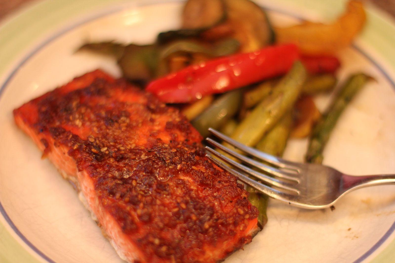 Sweet Smoked Salmon