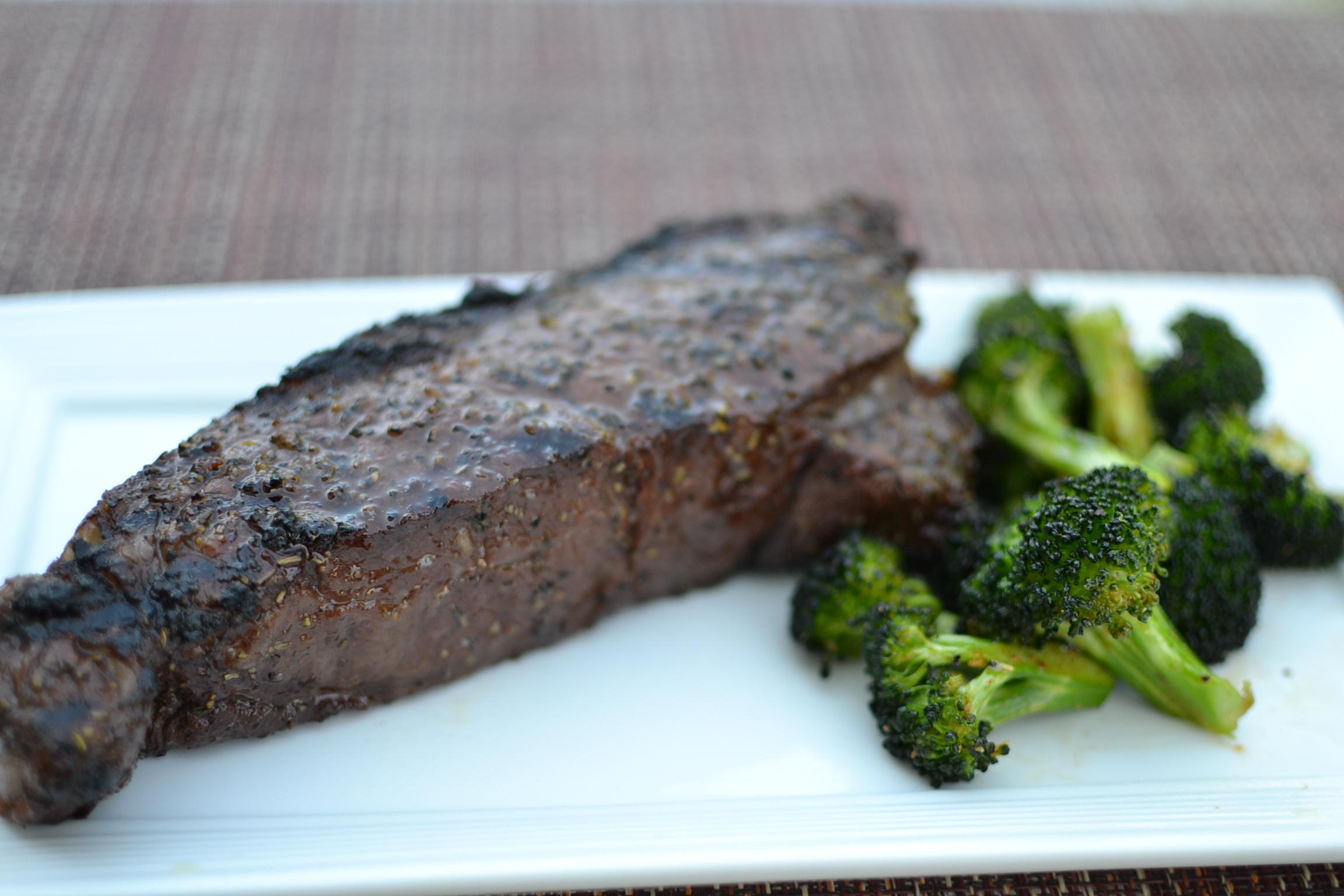 How To Grill A Buffalo Steak Recipe — Dishmaps