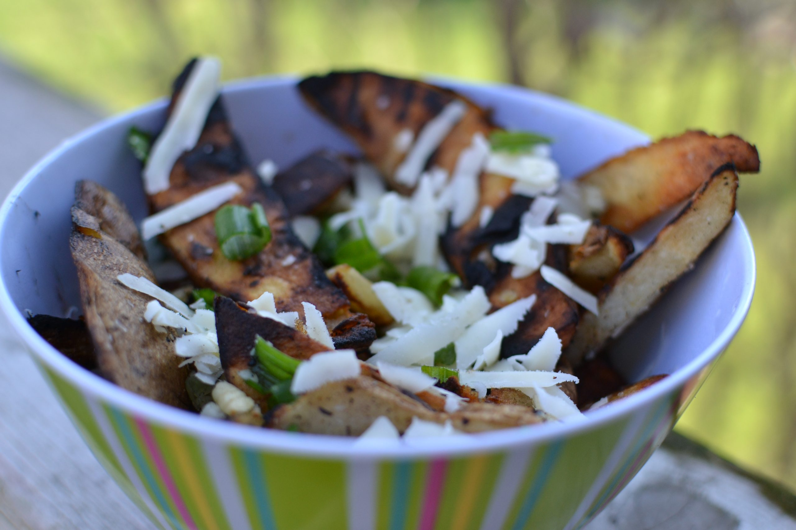 Grilled Asiago French Fries