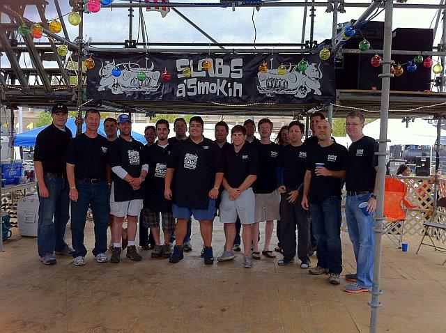 Slabs a' Smokin Team Memphis Team Picture