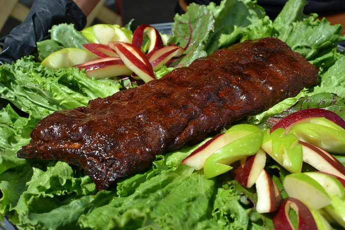 Ribs Platter For Memphis In May Judges