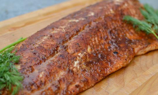 Smoked Full Salmon Filet
