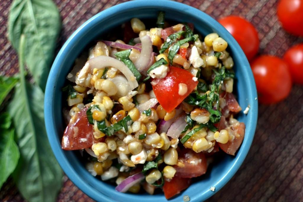 Roasted Corn Side Dish Recipe