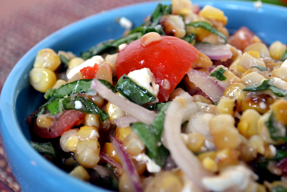 Grilled Corn Side DIsh Recipe