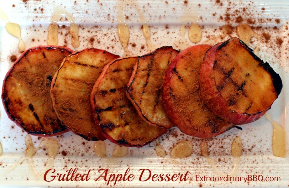 Grilled Apple Dessert