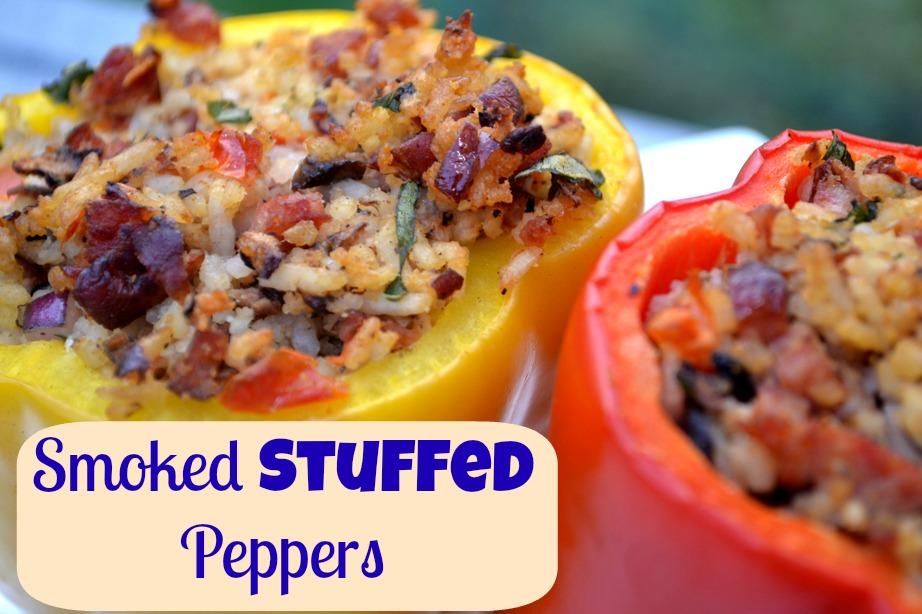 Smoked Stuffed Peppers Recipe