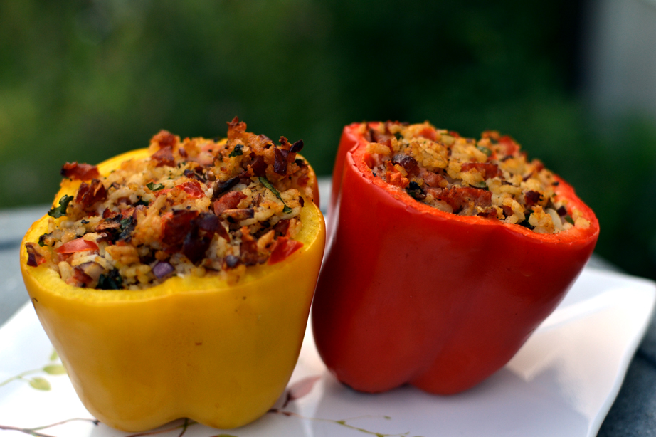 Smoked Stuffed Peppers
