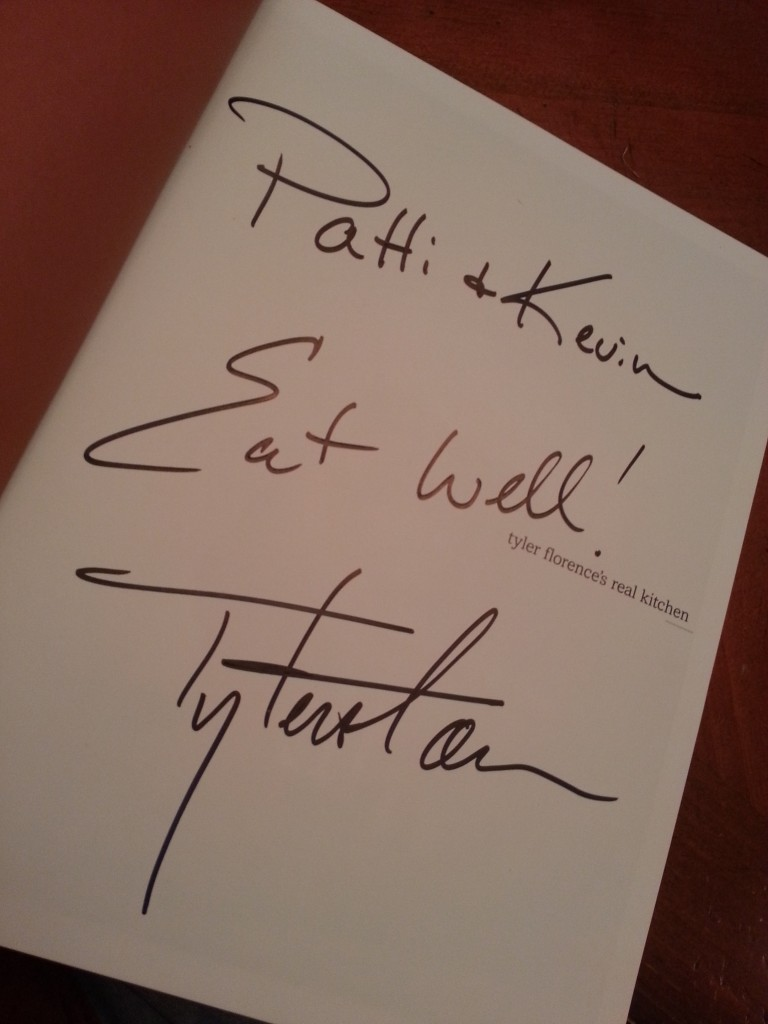 Tyler Florence Signed Book Real Kitchen