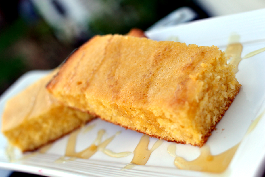 Corn Bread on the Grill