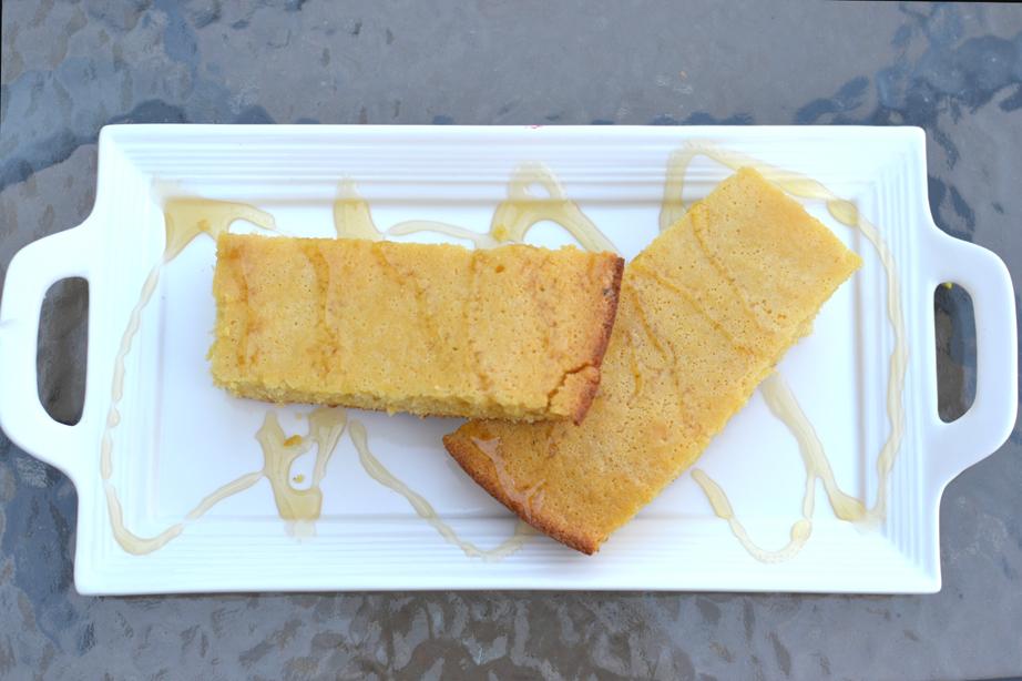 Corn Bread in Cast Iron Skillet