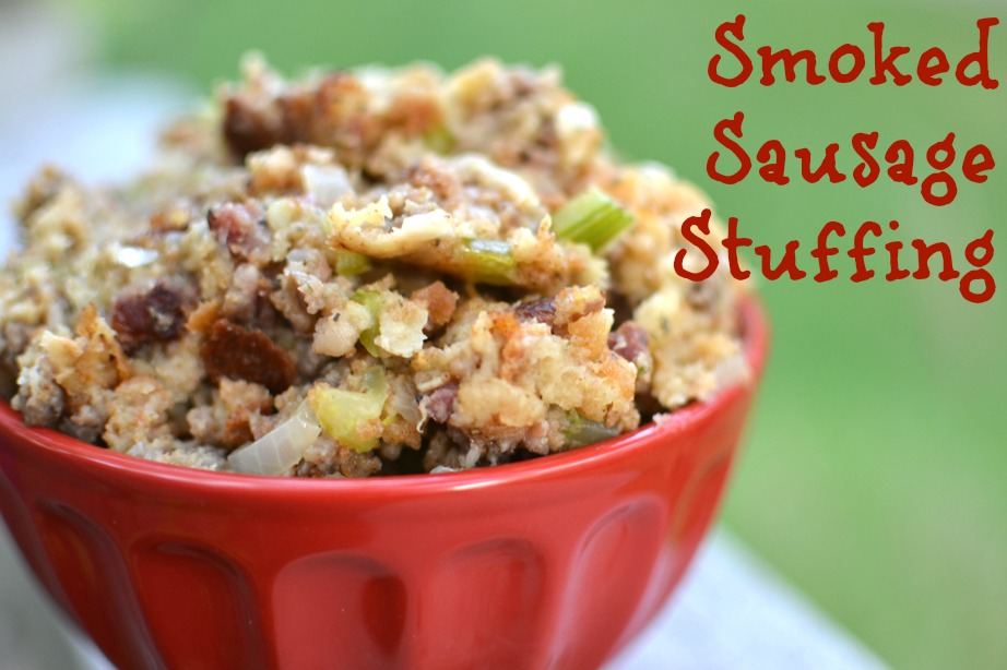 Smoked Sausage Stuffing
