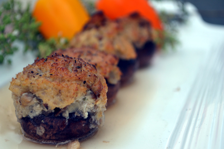 Post image for Smoked Stuffed Mushrooms