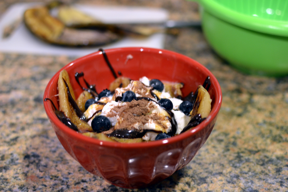 Post image for Romantic Grilled Banana Split for Two