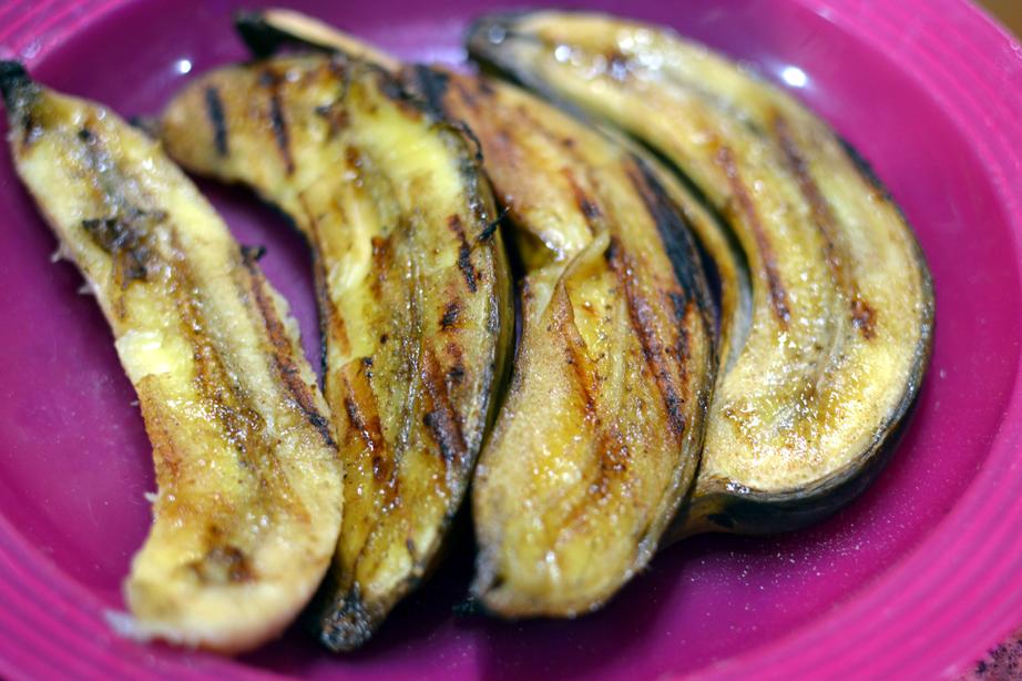 Grilled Banana Split Recipe
