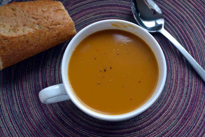 Fire Roasted Butternut Squash Soup Recipe