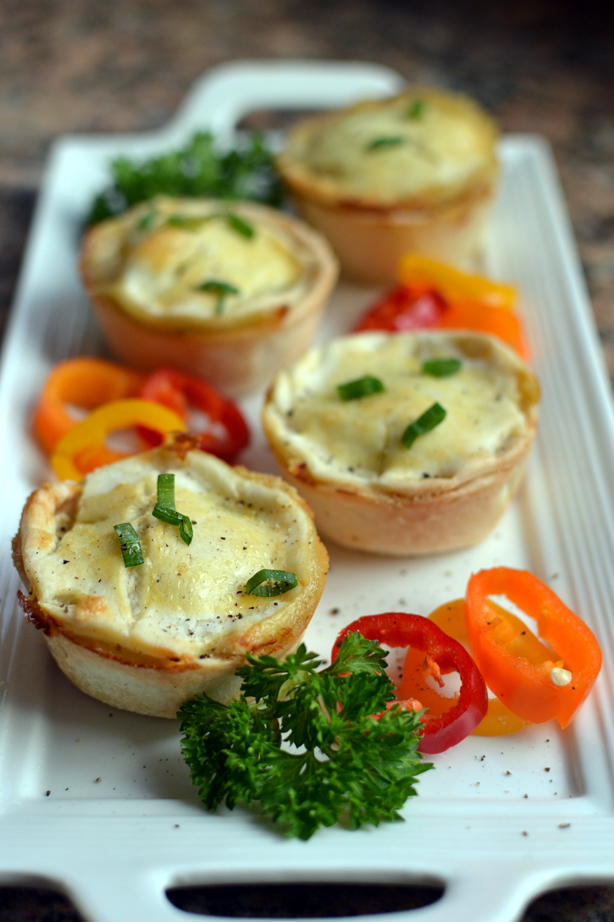 Miniature Turkey Pot Pies
