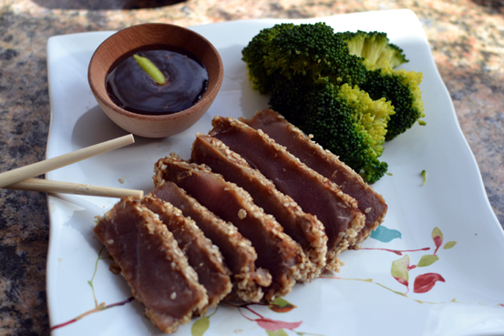 Post image for Wasabi Sesame Tuna