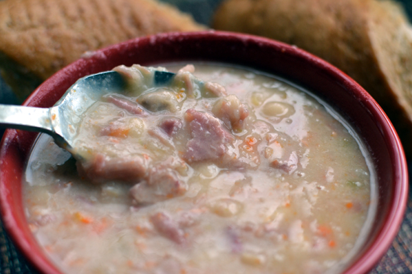 Ham Bean Soup `