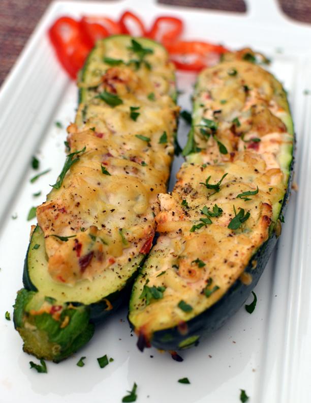Zucchini Boats 1