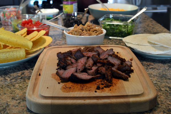 Mexican Flavored Steak for Taco Night