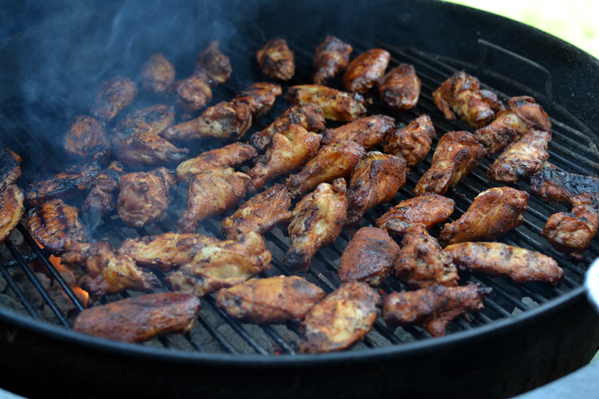 how to make smoked chicken wings