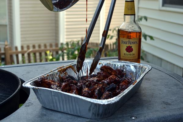 Honey Bourbon Chicken Wings