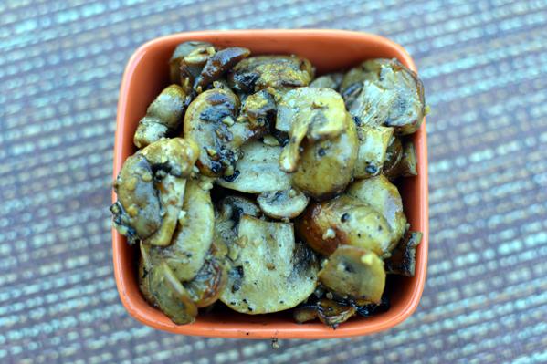 Ellbee's Grilled Mushrooms
