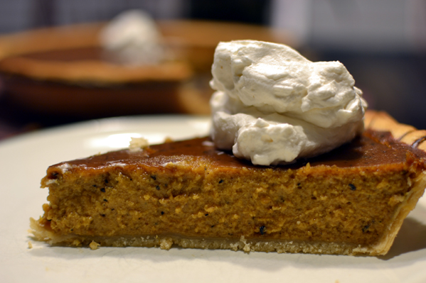Grilled Pumpkin Pie