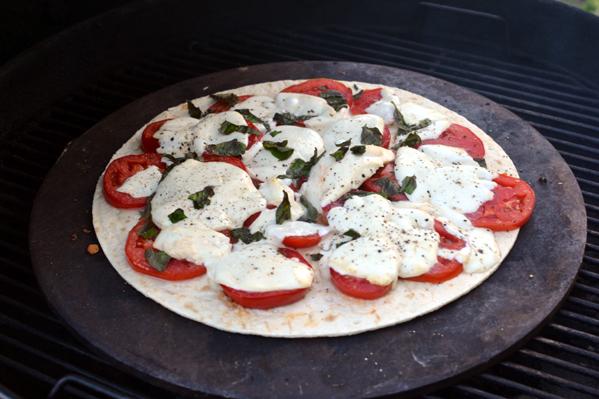 Grilled Marguerite Pizza Recipe