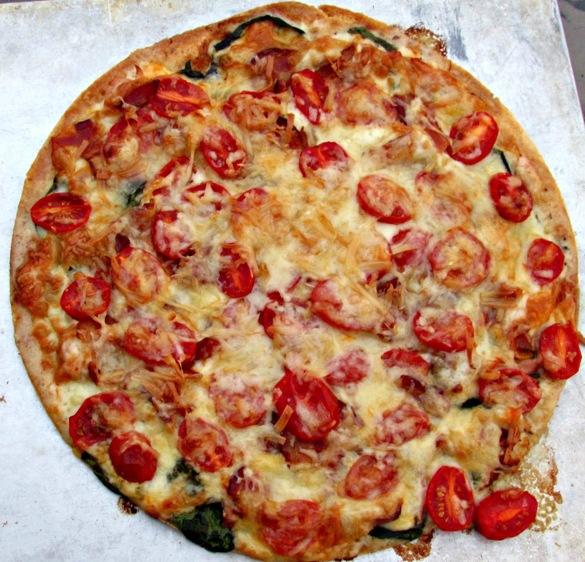Smoked Turkey Club Pizza