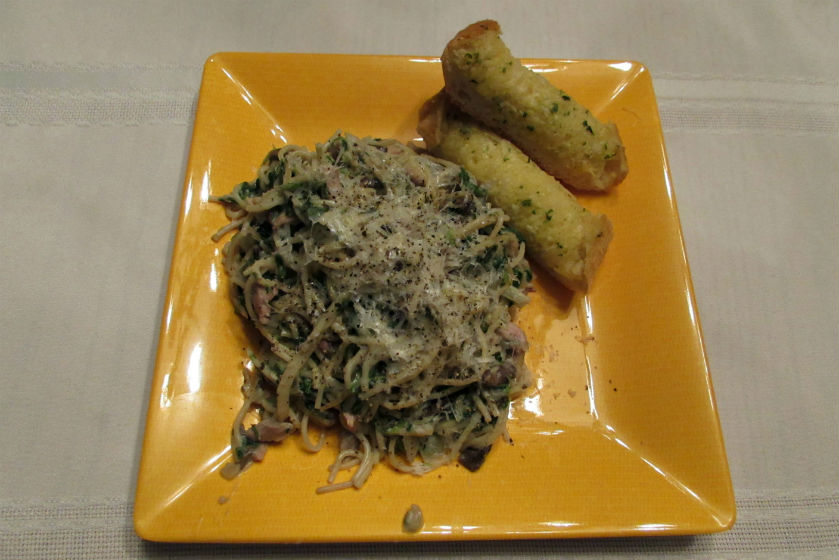 Smoked Turkey Tetrazzini
