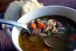 Thumbnail image for Lamb and Barley Soup