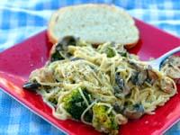 Thumbnail image for Smoked Roasted Garlic Pasta