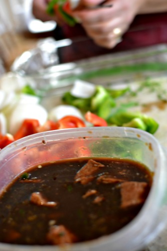 Beef Kabob Spicy