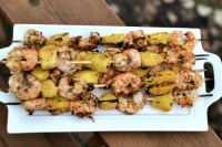 Thumbnail image for Grilled Shrimp and Pineapple Kabobs