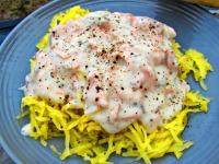 Thumbnail image for Smoked Salmon Spaghetti Squash Pasta