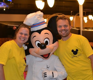 Mickey with Kevin & Karen
