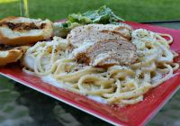 Thumbnail image for Grilled Chicken Fettuccine Alfredo