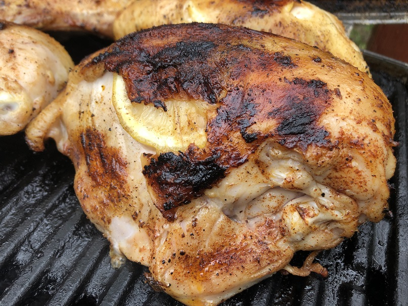 Finished Grilled Chicken Breast